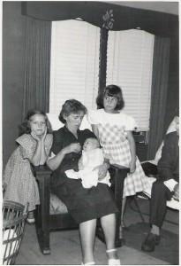 Grandma Winnard, Cheryl, Linda and baby Roberta or Donna.