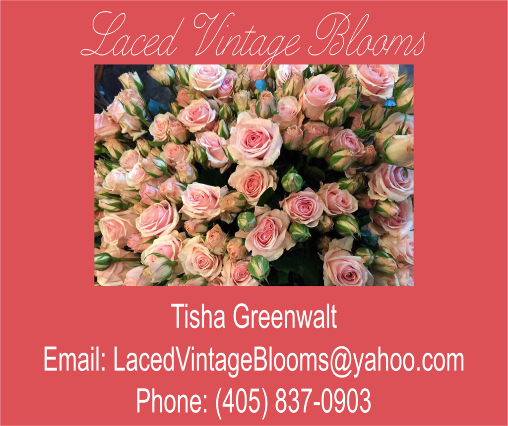 Laced Vintage Blooms - Tisha Greenwalt - Wedding, Funeral, Flowers for all Occasions